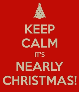 keep Calm its christmas